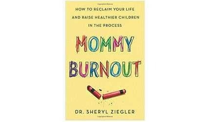 Mommy Burnout Book Jacket Cover